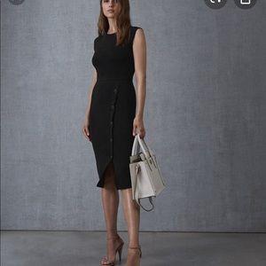 Reiss Sasha Button Front Dress